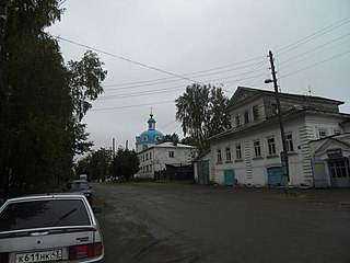 Yaransk Town in Kirov Oblast, Russia