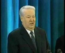 Plik:Церемония вступления Владимира Путина в должность Президента России 2000.ogv