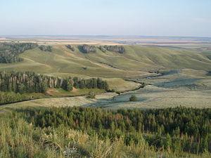 Aznakayevsky District - Chatyr-Tau Nature Area, Aznakayevsky District