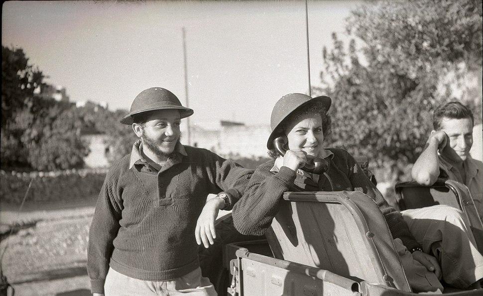 צריפין סרפנד כיבוש הבסיס 1948 1 צלם בנו רותנברג גנזך המדינה