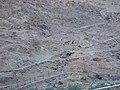منظر عام لجبال وادي الاربعين من داخل الوادي.JPG