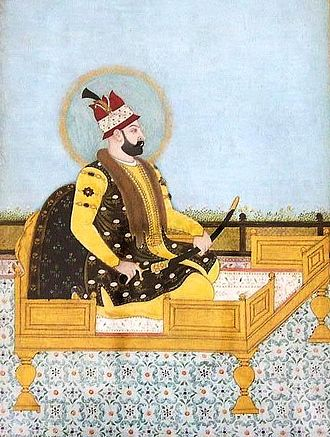 Afsharid dynasty - Painting of Nader Shah