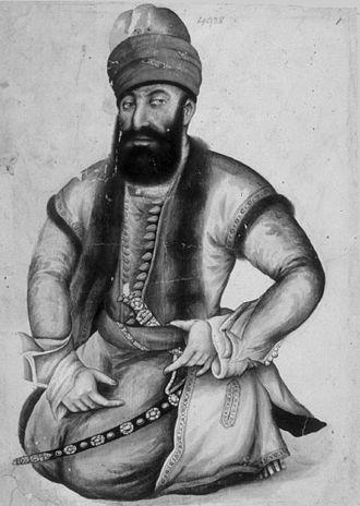 Lurs - Karim Khan, the Lurish ruler of the Zand Dynasty
