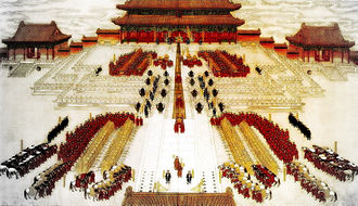 Guangxu Emperor - The wedding of the Guangxu Emperor and Empress Longyu
