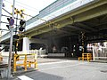 御堂筋西踏切道 Midosuji-Nishi - panoramio.jpg