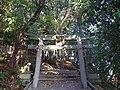 意賀美神社西側の鳥居 枚方市枚方上之町 Okami-jinja 2012.12.17 - panoramio.jpg