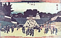 牛込神楽坂の図 歌川広重 1840.jpg