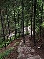 神仙居北登山道 - North Trail to Shenxianju - 2014.06 - panoramio.jpg