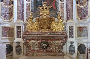 Cambayrac - Decoration inside the church in Cambayrac