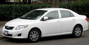 Car Allowance Rebate System - Image: 09 Toyota Corolla
