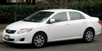 2009–11 Toyota vehicle recalls - Two of the vehicles under recall: the Toyota Camry (top) and the Toyota Corolla
