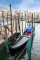 0 Venise, gondole du Canal Grande.JPG
