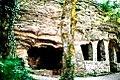 1. Barátlakás, Lakóbarlang és 2. Barátlakás, Keleti kápolna.jpg
