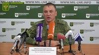 File:10 октября 2018 г. Заявление официального представителя НМ ЛНР подполковника Марочко А. В..webm
