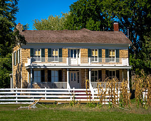 Mahaffie House - Image: 1100 Kansas City Rd., Olathe, KS J.B. Mahaffie House