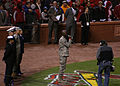 111019-Z-ZZ999-197 Sidewinder vocalist sings at Game 1 of 2011 World Series at Busch Stadium.jpg