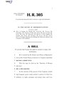 116th United States Congress H. R. 0000305 (1st session) - Sanctity of Human Life Act.pdf
