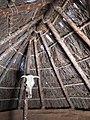 127 Parc arqueològic de les Mines de Gavà, model de cabana neolítica.JPG