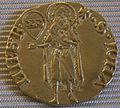 1385 secondo semestre, fiorino d'oro XII serie con stemma strozzi.JPG
