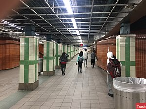 13th Street station (SEPTA) - Image: 13th Street Tunnel
