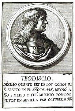 Resultado de imagen de Teudis: Rey de los Visigodos