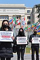 14 Protesters in Geneva demand the release of Armenian POWs, 15 April 2021.jpg