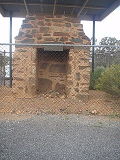 First BHP Offices Chimney Ruin