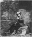 1853 Buffalo Newsboy by Thomas Le Clear AlbrightKnox Art Gallery.png