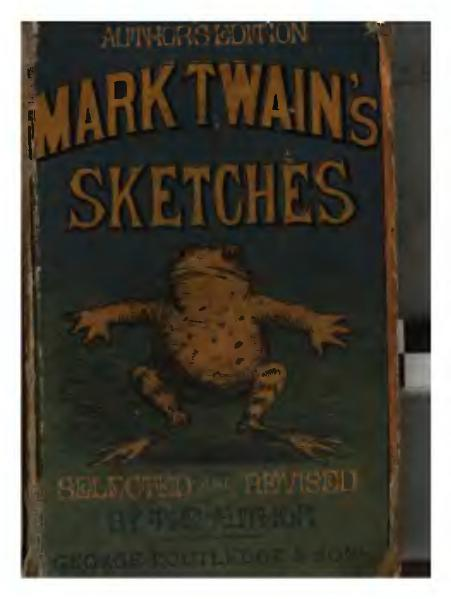 File:1872. Mark Twain's Sketches.djvu