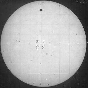 Transit of Venus, 1882 - The Venus transit of 1882