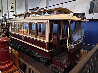 Sydney C-Class Tram - Preserved C11 at the Powerhouse Museum