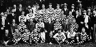 1902 SAFA Grand Final - Image: 1902 North Adelaide premiership team