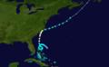 1908 Atlantic hurricane 3 track.png