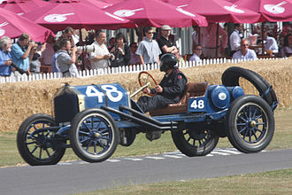 National Motor Vehicle Company - 1910 National 40 Indianapolis at the 2009 Goodwood Festival of Speed.