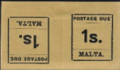 1925 Malta postage due stamps (tête-bêche) cropped.png