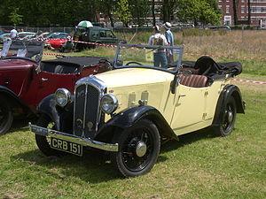 Austin 10 - Ripley sports tourer, 1934