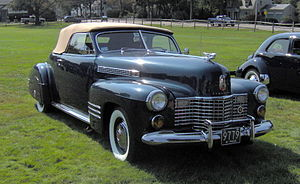 Cadillac Series 62 - 1941 Cadillac Series Sixty-Two Convertible Coupe