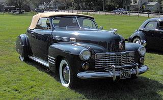 Cadillac Series 62 Motor vehicle