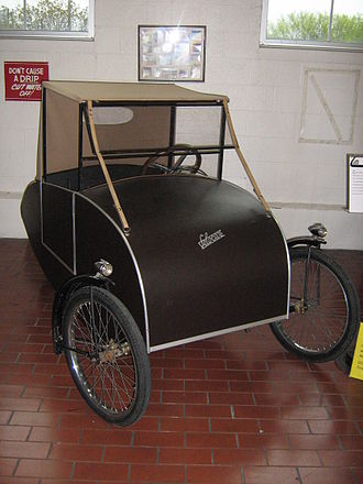 Quadracycle - A 1945 model Mochet Velocar