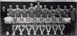 1944–45 Oklahoma A&M Aggies men's basketball team - Image: 1945 Oklahoma State