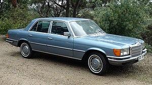Mercedes-Benz W116 - 1978 Mercedes Benz 280SE (Australian delivered) in 906 Graublau metallic (Grey Blue metallic)