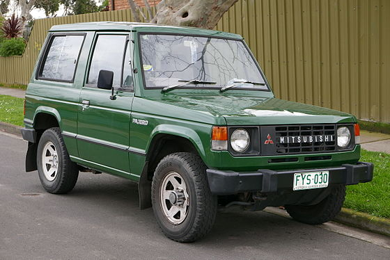 Mitsubishi Pajero 1