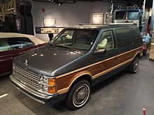 1986 Dodge Caravan Smithsonians National Museum Of American History