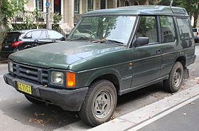 1993 Land Rover Discovery Tdi 3-door wagon (23898328406).jpg