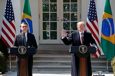 Bolsonaro and Trump, From WikimediaPhotos