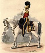 1st Dragoons uniform (1839)