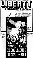 20,000 Leagues under the Sea - movie ad - newspaper1917.jpg