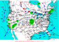 2004-02-22 Surface Weather Map NOAA.png