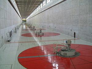 Yacyretá Dam - Generator hall