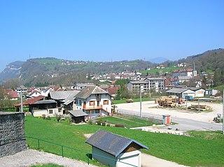 La Bridoire Commune in Auvergne-Rhône-Alpes, France